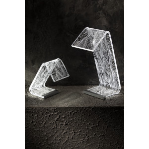 Led Table Lamp C Media Feather  Vesta Home